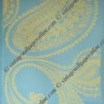 COLE'S RAJAPUR R132F 26 ROLLS ONLY. A CLASSIC 1960'S PAPER, UN-TRIMMED. DESIGNED BY UNA LINDSAY.MATT FINISH. £30.00 PER ROLL