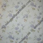 R31H8   1 ROLL BLUE FLOWER £18