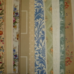 16 X 900CM SHEETS OF HISTORICAL WALLPAPER AS IN PICTURE,1890-1930 BY MORRIS,ZUBER AND MORE. £250 FOR THE PACK AND FREE SHIPPING.